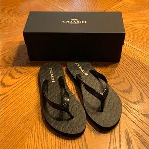 NWOT COACH Sandals